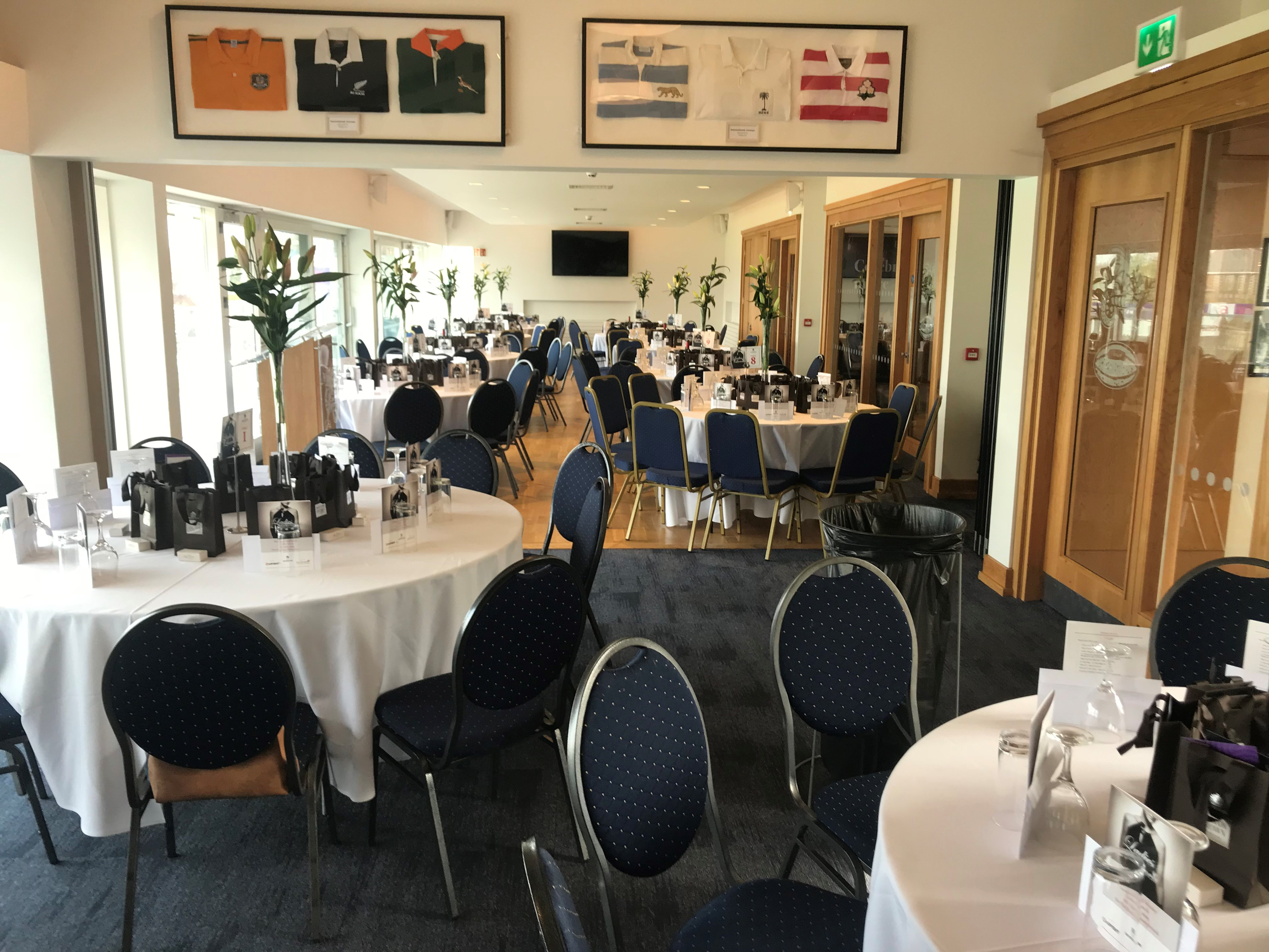 Function Room Setup Long View