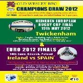 find out more about CHAMPIONS DRAW 2012