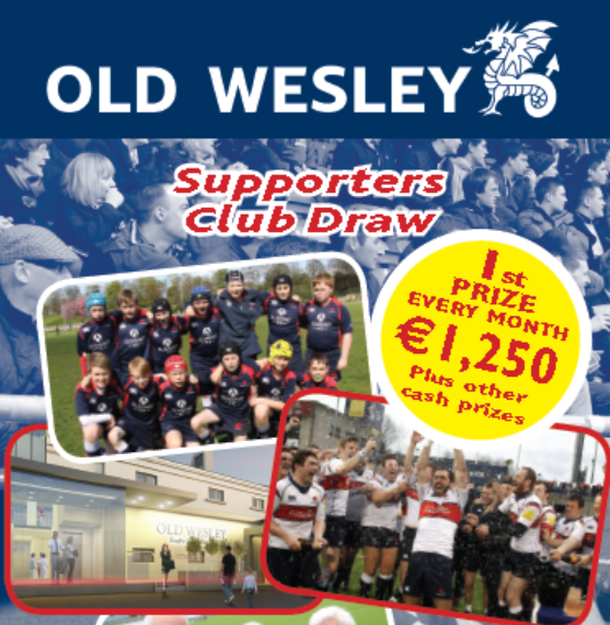 find out more about Old Wesley Supporters Club Draw Recent Results