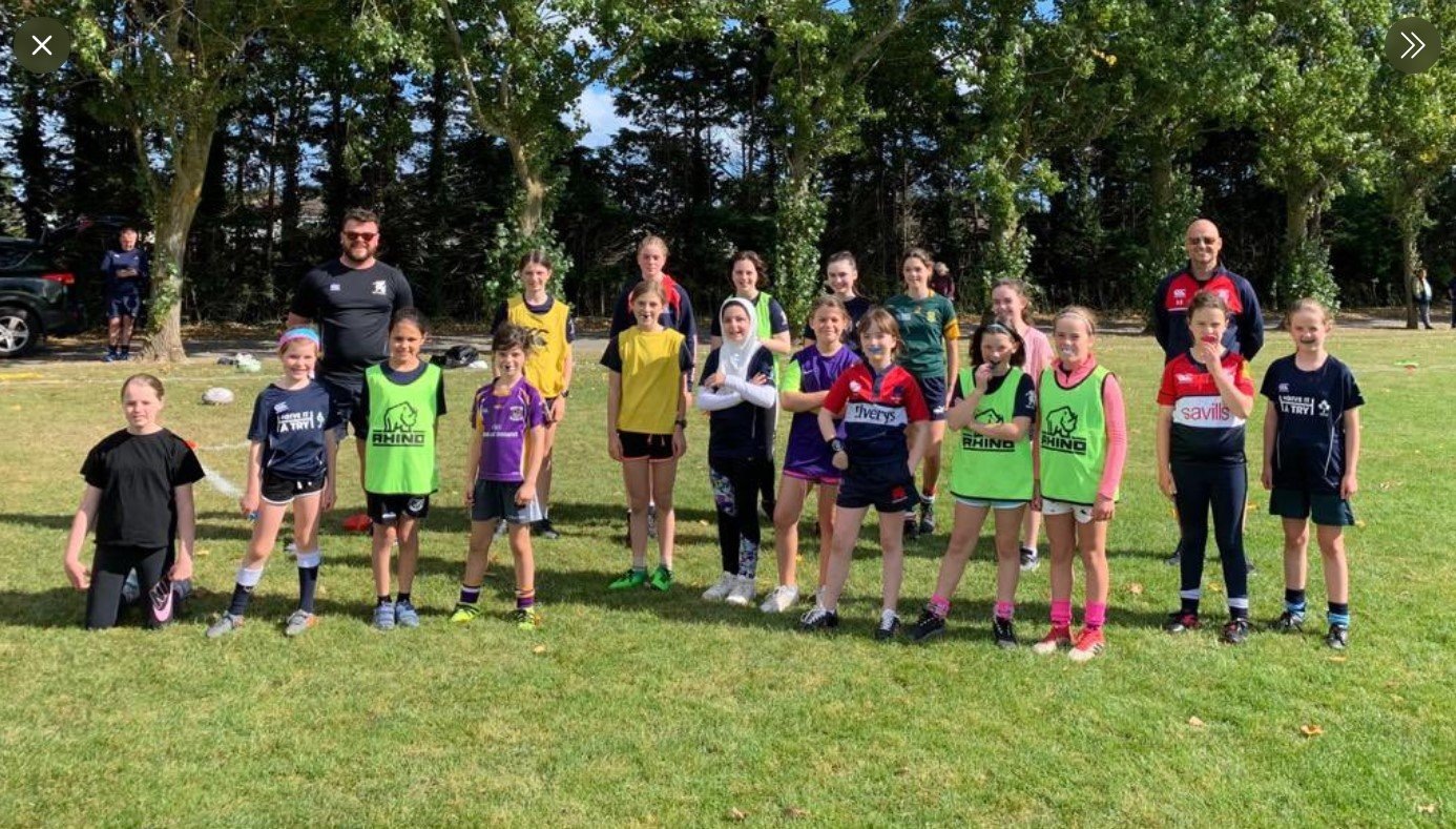 """find out more about Girls' Rugby """"Give It A Try"""" A Great Success"""
