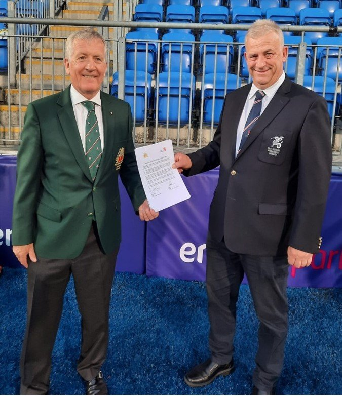 find out more about Old Wesley & Bective Rangers Sign Youth Rugby MoU