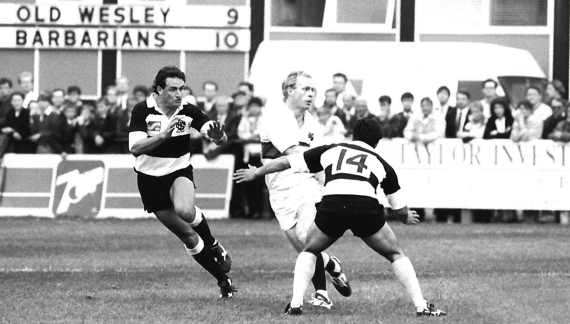 find out more about Old Wesley v Barbarians Team and Club Reunion